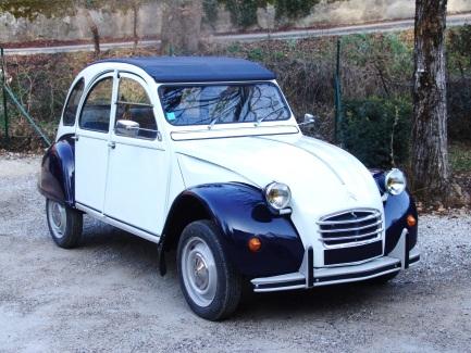 Citroën 2cv spéciale