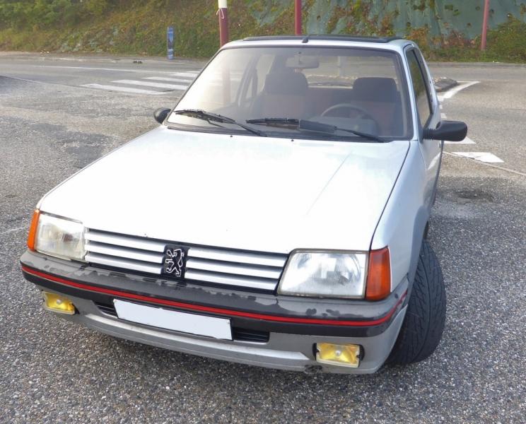 Peugeot 205 GTI 1,6 de 1986