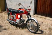 Moto Honda S90 de 1968
