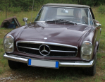 Merdes 230 SL Pagode de1965 (Foissac)
