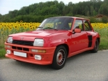 Renault 5 turbo de 1980