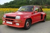 Renault 5 turbo de 1980