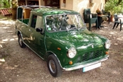 Austin mini pick-up de 1981