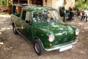 Austin mini pick-up de 1981