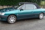 Peugeot 306 cabriolet 1,8 de 2000(bonifon)